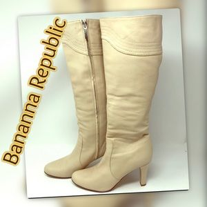 Banana Republic Super Sexy  Leather Boots 👢